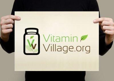 Vitamin Village Logo Design