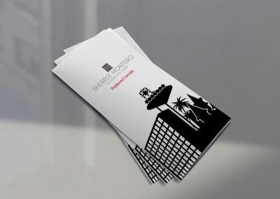 Sherree Montero Trifold Brochure Marketing Collateral